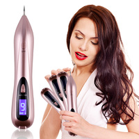Rose Gold 6 Levels Laser Electric Ion Beauty Machine Remove Dark Spot Mole Tattoo Granulation Wart