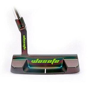 Image 1 - PVD kaplama karbon çelik CNC freze Golf atıcı siyah festoon golf kulüpleri ücretsiz kargo