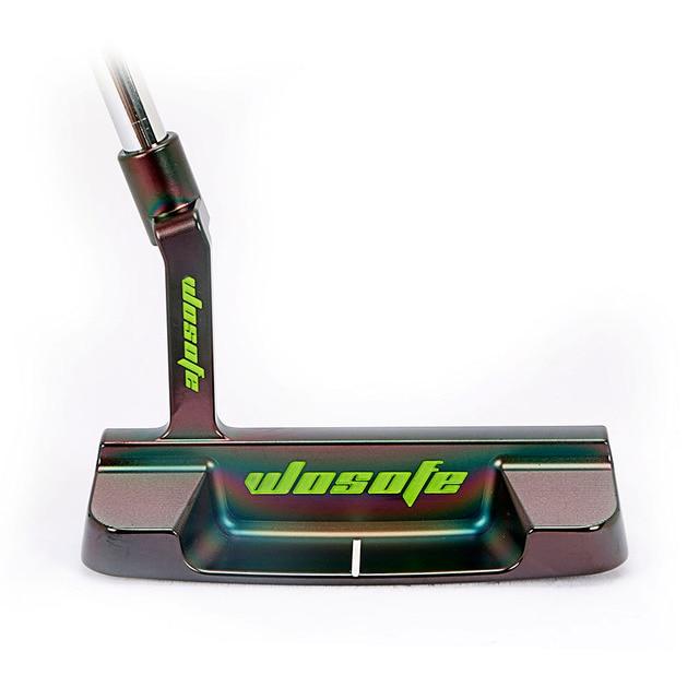 PVD التشطيب الكربون الصلب باستخدام الحاسب الآلي طحن مضرب الغولف الأسود فسطون نوادي الغولف شحن مجاني