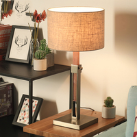 LED Table Lamps For Bedroom Adjustable height 55 79cm Bedside Table Lamp Individuality Bedside Light lampe table de chambre