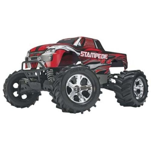 Traxxas Stampede 4x4 Brushed RTR Monster Truck w/iD Battery System TRA67054-1 Fast Shipping