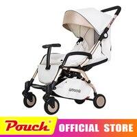 Aulon Детские коляски свет зонтик автомобиль Четыре раундов амортизатор складывая может лежать Детские коляски оюн Длинные