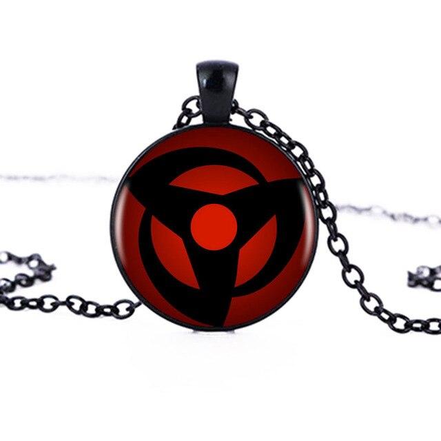 Uchiha Sharingan Pendant Necklace