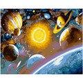 Живопись по номерам DIY Dropshipping40x50 50x65 см  для изучения космоса  таинственный пейзаж  холст  свадебное украшение  художественное изображение  п...