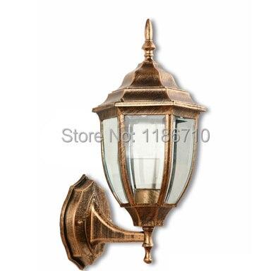 outdoor wall light European outdoor waterproof wall lamp wall lamp outdoor lighting Retro wall lamp lights led light