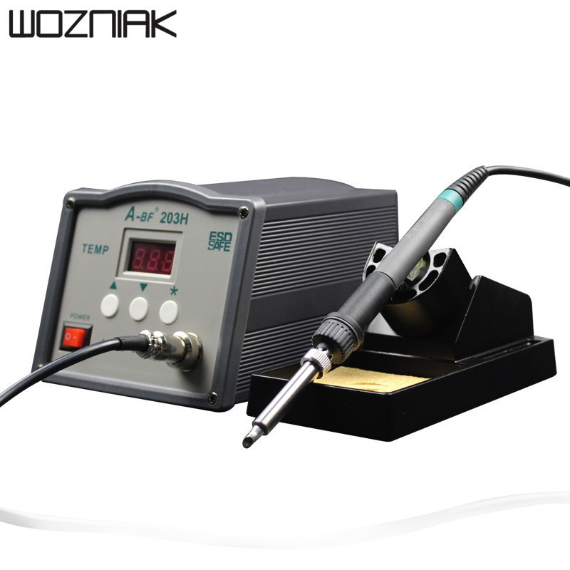 A-BF Soldering Station 203H 90W 205H 150W High frequency Soldering Station 220V 230V Lead free solder Soldering Iron Station esd safe 75w soldering handpiece t245a solder iron handle for di3000 intelligent soldering station
