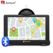 Junsun 5 inch Автомобильный gps-навигация bluetooth fm AVIN MP4 Европа/Навител бесплатно обновить карту автомобиля gps-навигатор sat nav