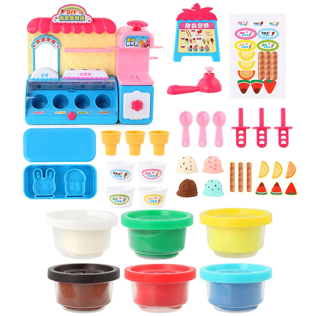 Childrens Simulation Kitchen Utensils Ice Cream Candy Ice Cream Supermarket Suite ToysChildrens Simulation Kitchen Utensils Ice Cream Candy Ice Cream Supermarket Suite Toys