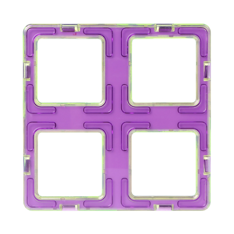 Magnetic Square Building Blocks Designer Construction Model DIY Kids Toy Gift
