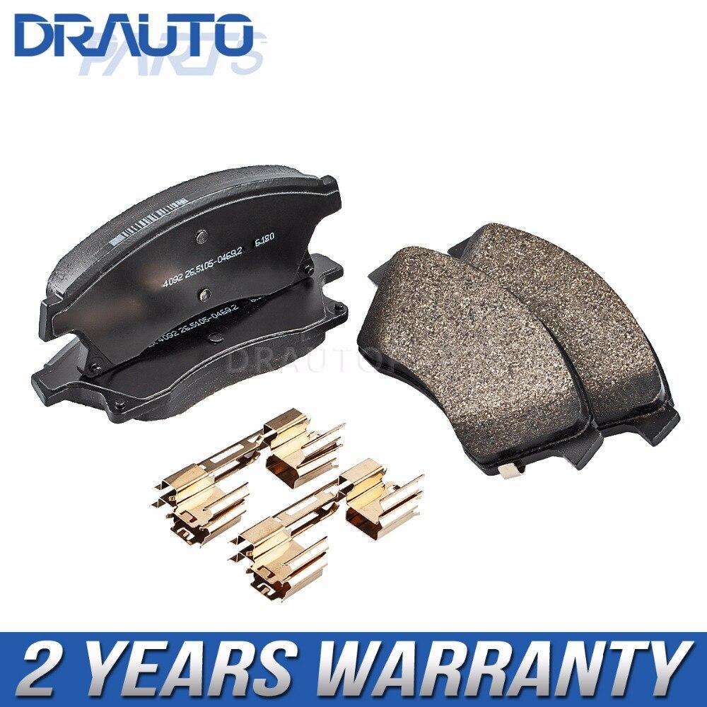 Plaquettes de frein 13301207/13412272 utilisées pour Chevrolet/Opel Cruze/Excelle