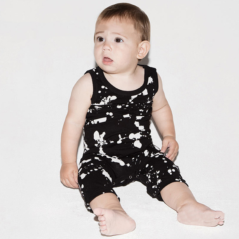 Big Discount Baby Rompers Tiny Cottons Newborn Boys Romper Girls Clothes Glasses Print Summer Clothing Sleeveless Baby Jumpsuit baby girl boy romper tiny cottons white gray long sleeve angel wings baby clothes newborn jumpsuit rompers baby onesie costume