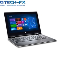 Touch Screen Ultrabook 32GB SSD or 320GB/1TB HDD CPU Intel 4 Core 4GB RAM Windows 10 Office White AZERT Spanish Russian Keyboard