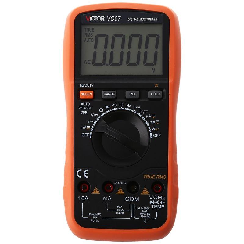 Victor DMM VC97 Auto Range Digital Multimeter Meter цена 2017