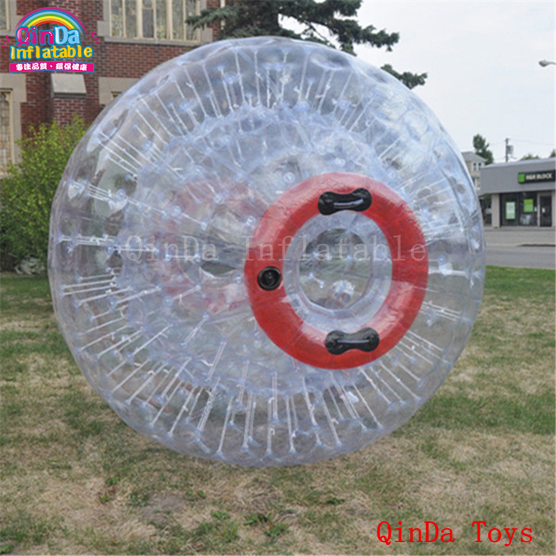 Dia 3M commercial water human hamster ball with air pump,clear inflatable zorbing ball for grass arsenic in water for human consumption