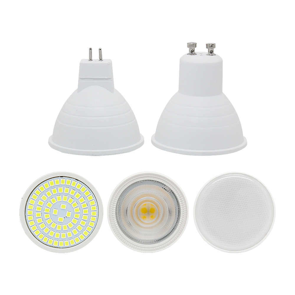 LED Bulb Spotlight GU10 MR16 2W 3W 4W 5W 7W 220V COB Chip Beam Angle 120 Degree Chandelier LED Lamp For Downlight Table Light