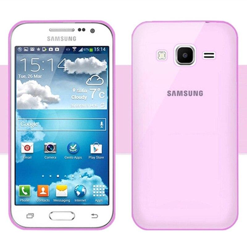 Transparent Clair TPU Cas Pour Samsung Galaxy Ace 4 G313 G313H
