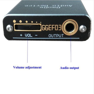 Image 4 - HIFI audio amplifiers OPA2134UA BA15218F portable decoding Subwoofer headphone amplifier finished board in case with battery