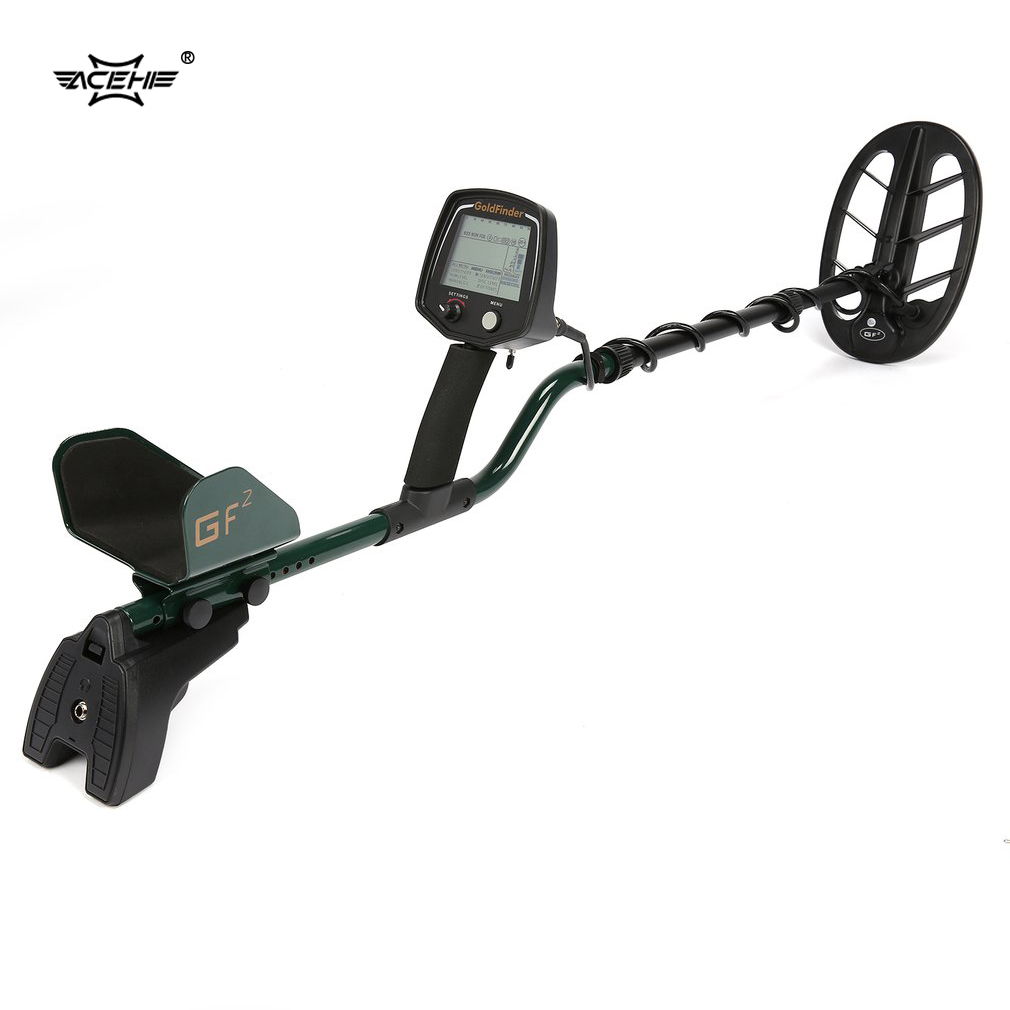 New Arrive Metal Detector GF2 Professional Underground Handheld Treasure Hunter Gold Digger Finder With Headphone LCD Display mac gently off eye and lip средство для снятия макияжа с глаз и губ gently off eye and lip средство для снятия макияжа с глаз и губ