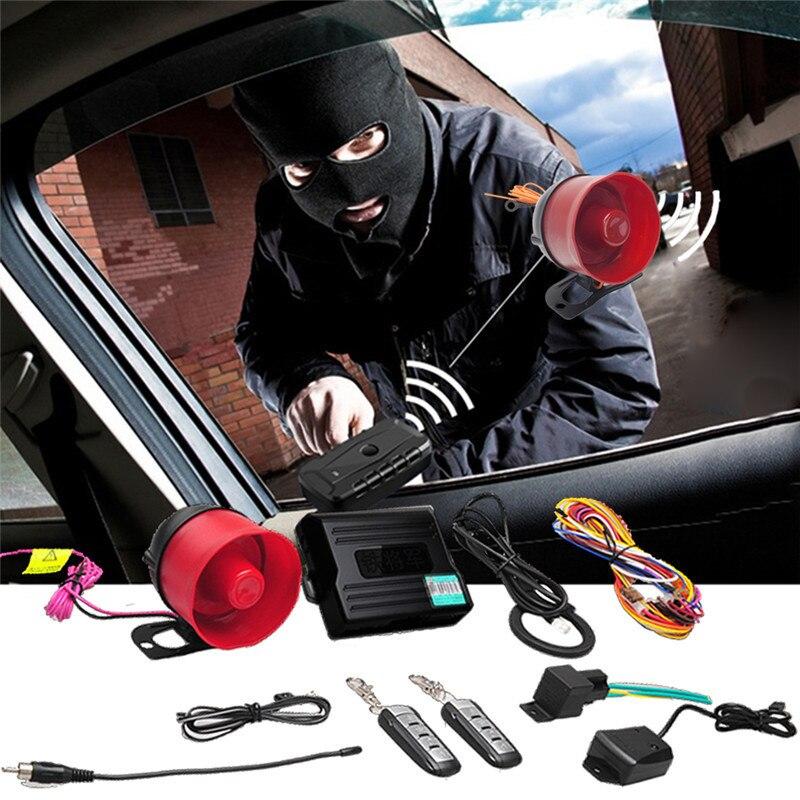 SK02 2-in-1 Car Alarm Car Secur