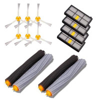 4 Debris Extractor Brush 4 Filter 6 Side Brush Kit For Vacuum Robots Cleaner Accessories Parts