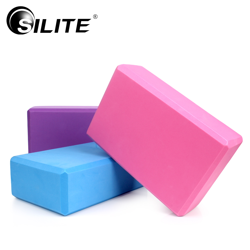Yoga Block Pilates Fitness Equipment Training EVA Foam Crossfit Yoga Blocks Yoga Accessories Bricks Gym Home Exerciser Workout  yoga accessories yoga block | Best Yoga Props: Top 3 Yoga Accessories for Your Home Yoga Practice  font b Yoga b font font b Block b font Pilates Fitness Equipment Training EVA