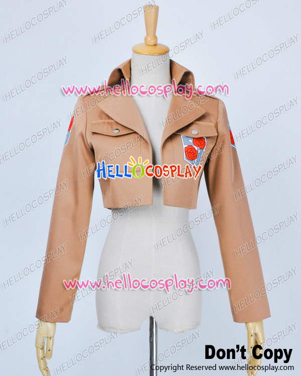 Attack On Titan Shingeki No Kyojin Cosplay Cantonment Legion Costume Coat Jacket Premade Standard Size H008