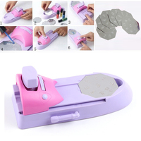 DIY Printer Pattern Manicure Machine Plate Stamper Drawing Polish Kit Set For Nail Design Art
