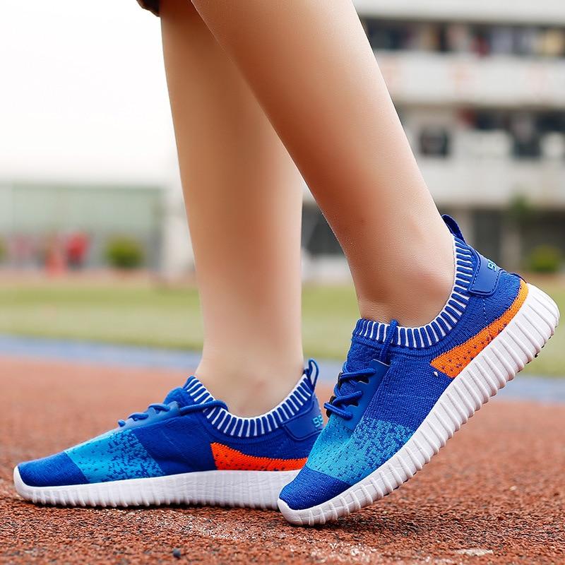 2019 summer boy new mesh shoes children students big boys casual running