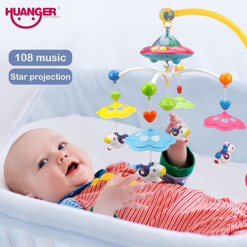 Baby Chocalhos e Mobiles musical berço móvel rotating bracket Faixa Etária : 3 Anos de Idade, 0-12 Meses