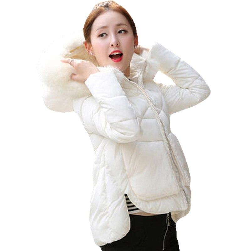 Hooded Cotton Padded Coat Winter Hippie Luxury Jacket 80s 90s Boho Parka Fur Trim Outwear Sweet Cute Short Coat Side Slit XH533 luxury finland raccoon fur hooded 90