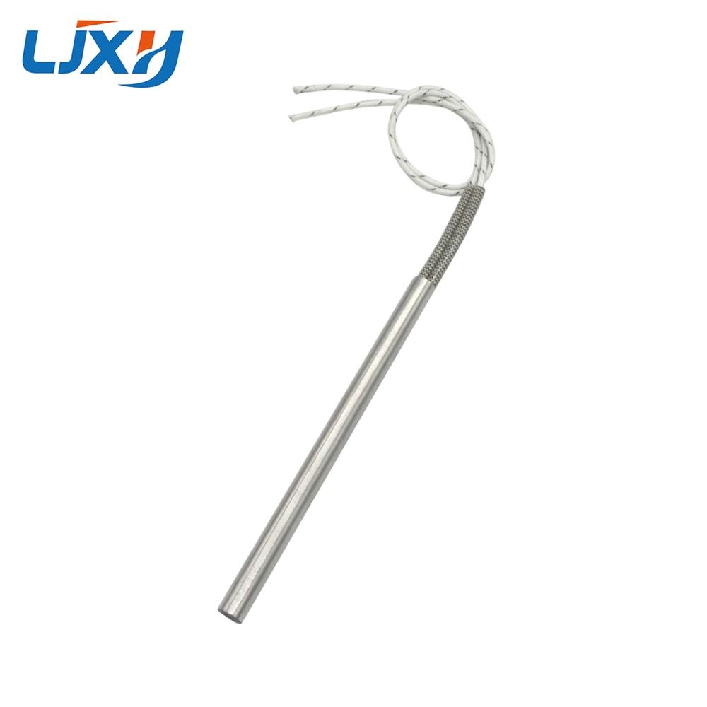 LJXH AC110V/220V/380V Cartridge Heater Electric Heating Element 12mm Pipe Diameter 480W/600W/780W ljxh w type electric finned tubular heat pipe m18 16 25 w shape fin heating element 220v 1500w 2000w 2000w 201 stainless steel