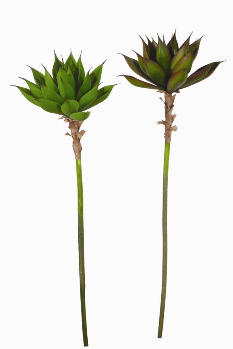 Fleur artificielle fleur en plastique fleur artificielle grande éclipta plantes succulentes artificielles simples 1.3 m de long 1 pièces