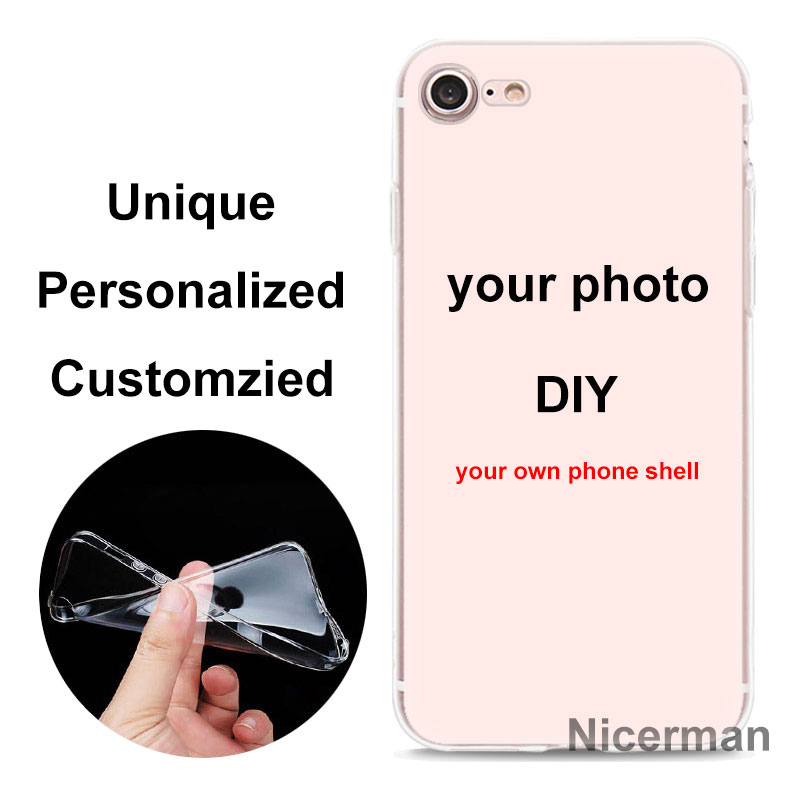 Изготовленный На Заказ самодельные картины силиконовый чехол для телефона для Apple iPhone 7, 8, 6, 6 S Plus, X XR XS MAX чехол для samsung Galaxy S10 S10e чехол Coque
