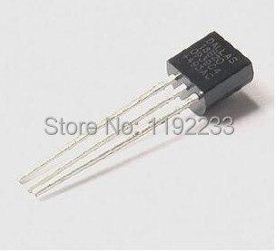 10pcs lot Original font b Electronic b font font b component b font sensor DS18B20 TO