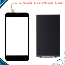 100% Tested OK For Oukitel U7 Max / Oukitel U7 Plus LCD Display and Touch Screen 5.5 '' Mobile Phone Accessories IN Stock