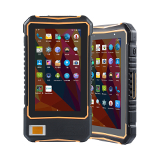 Rugged Android 7.0 OS New 7 Inch Touch Screen Tablet UHF RFID Fingerprint Reader NFC 1D 2D Barcode Scanner