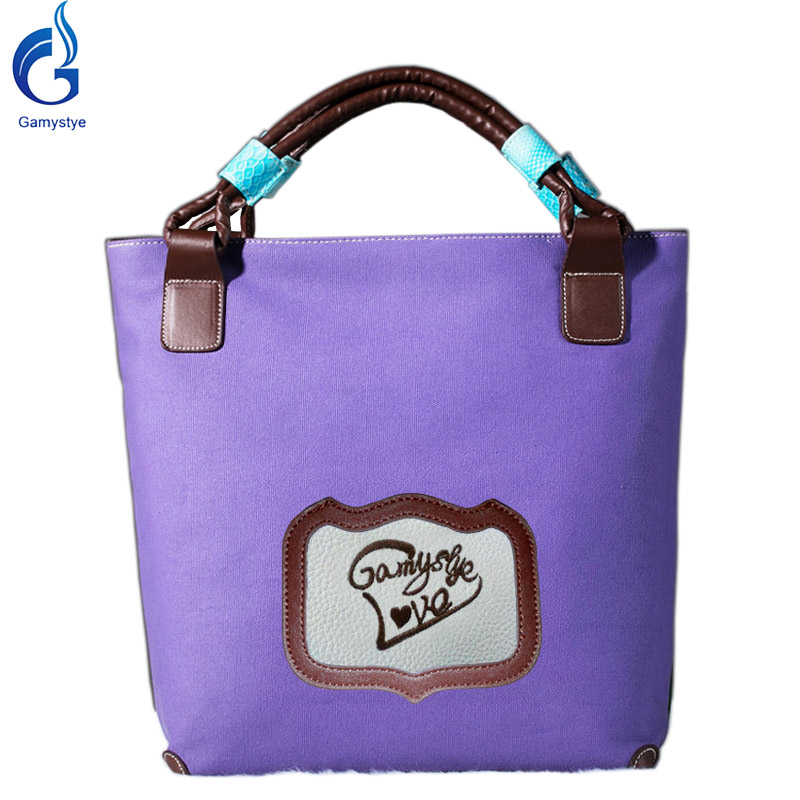 gamystye 2017 mulheres lona sacolas Handbags High Quality Girl Dogs Estilo : Women Messenger Bags