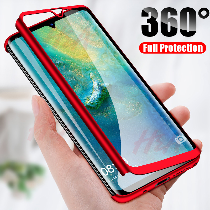 H&A 360 Full Cover Phone Case For Huawei Mate 20 10 P20 Lite Pro P10 P9 P8 Lite PC Protective Cover P20 P9 Case Cover Fundas(China)
