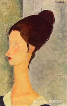 Jeanne Hebuterne III Amedeo Modigliani painting for sale Hand painted High quality image
