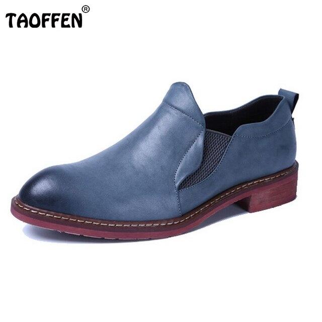 Shoes Man's Flats Causal Fashion Men's Business Dress Shoes Brand British Leisure Party Shoes Man Moccasins Size 38-43 M0222