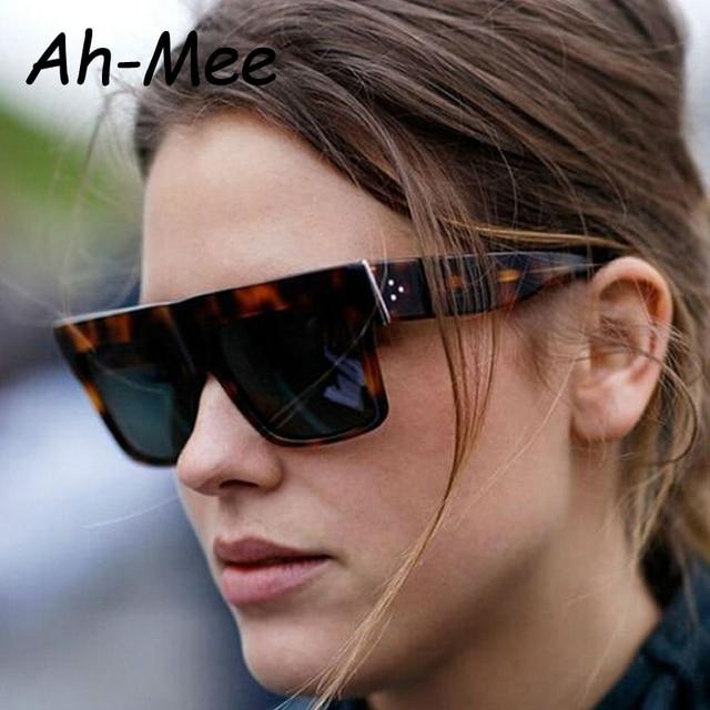 803b78c8964 Square Sunglasses Women Brand Designer Fashion Oversized Eyewear Vintage  Female Glasses Big Square Frame Top Quality