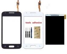 Продажа Для samsung Galaxy Ace 4 G313 G313F G313H Сенсорный экран планшета Сенсор + ЖК-дисплей Экран дисплея + клей + Наборы