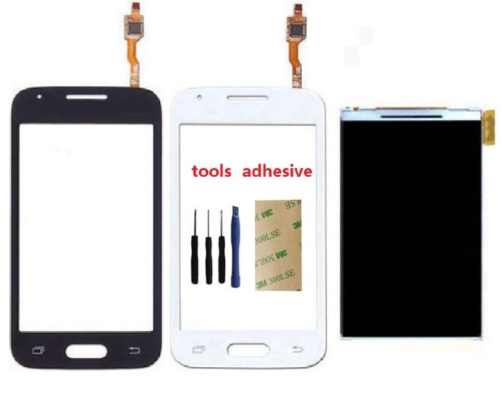 For Samsung Galaxy Ace 4 G313 G313F G313H Touch Screen Digitizer Sensor + LCD Display Screen + Adhesive + Kits