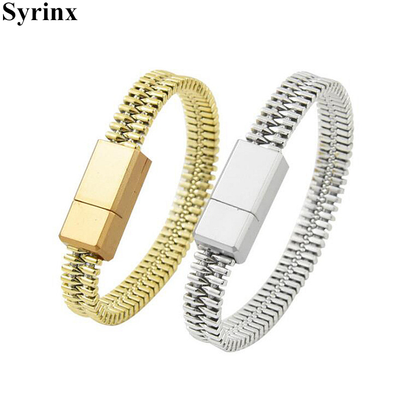Bracelet USB Cable Data Line Charger for Charging Wire Phone Huawei iPhone X XS 6s 7 8 Plus XR P20 Pro Adapter Light Micro USB in Mobile Phone Chargers from Cellphones Telecommunications