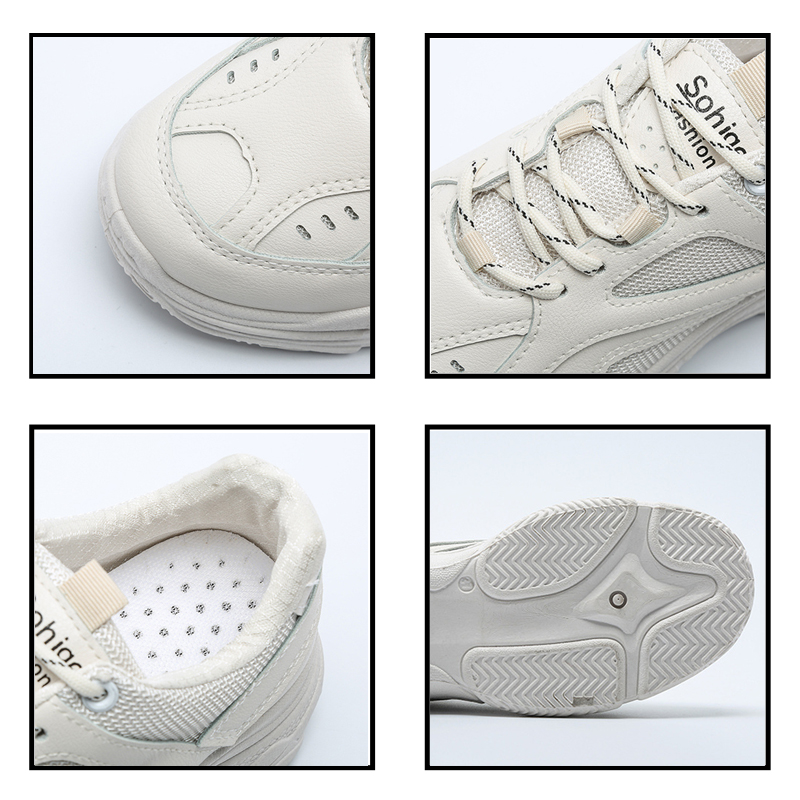 discount PU Mixed Sneakers 16