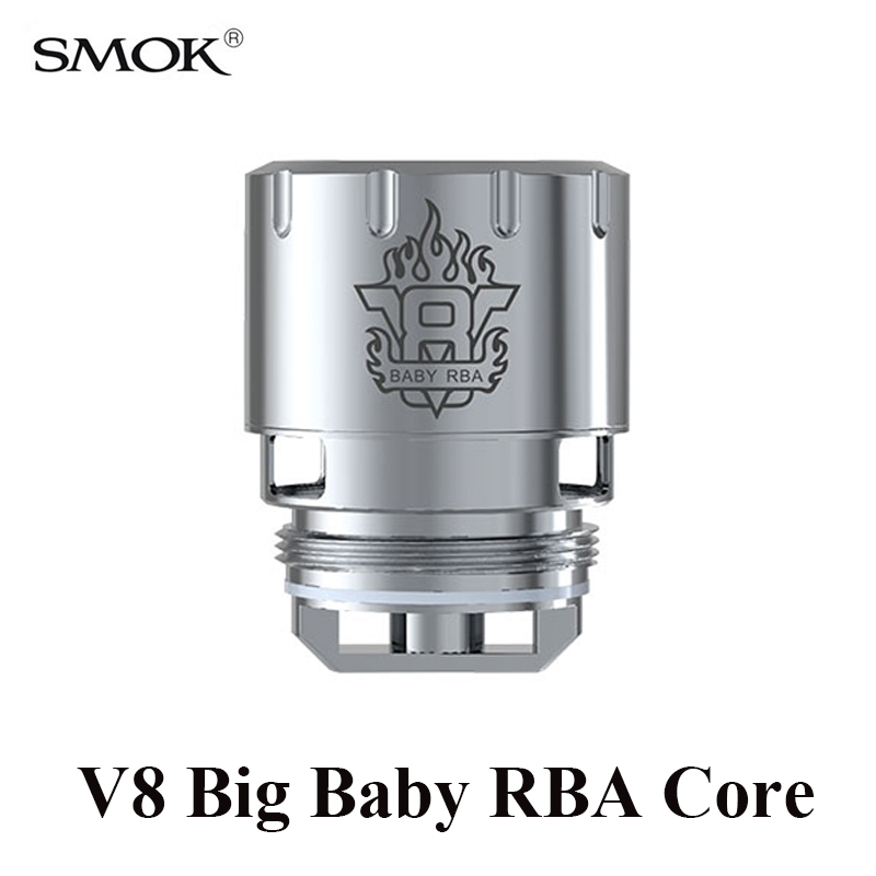 SMOK TFV8 Big Baby Tank RBA Core Stick V8 Kit RBA Coil G150 G-Priv GX2/4 T-Priv RBA Rebuildable Coil S213 original smok tfv8 rba coil rebuildable atomizer head for smok tfv8 tank electronic cigarette tfv8 atomizer rba coil diy vape