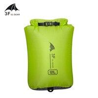 3F UL шестерни 15D 30D кордюрный учебный рюкзак Сверхлегкий дрейфующее плавание мусора одежда спальный мешок, мешок для вещей водонепроницаемая...