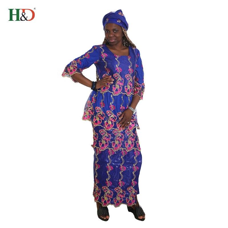 Aliexpress Com Buy H Amp D 2018 African Women Bazin Dress