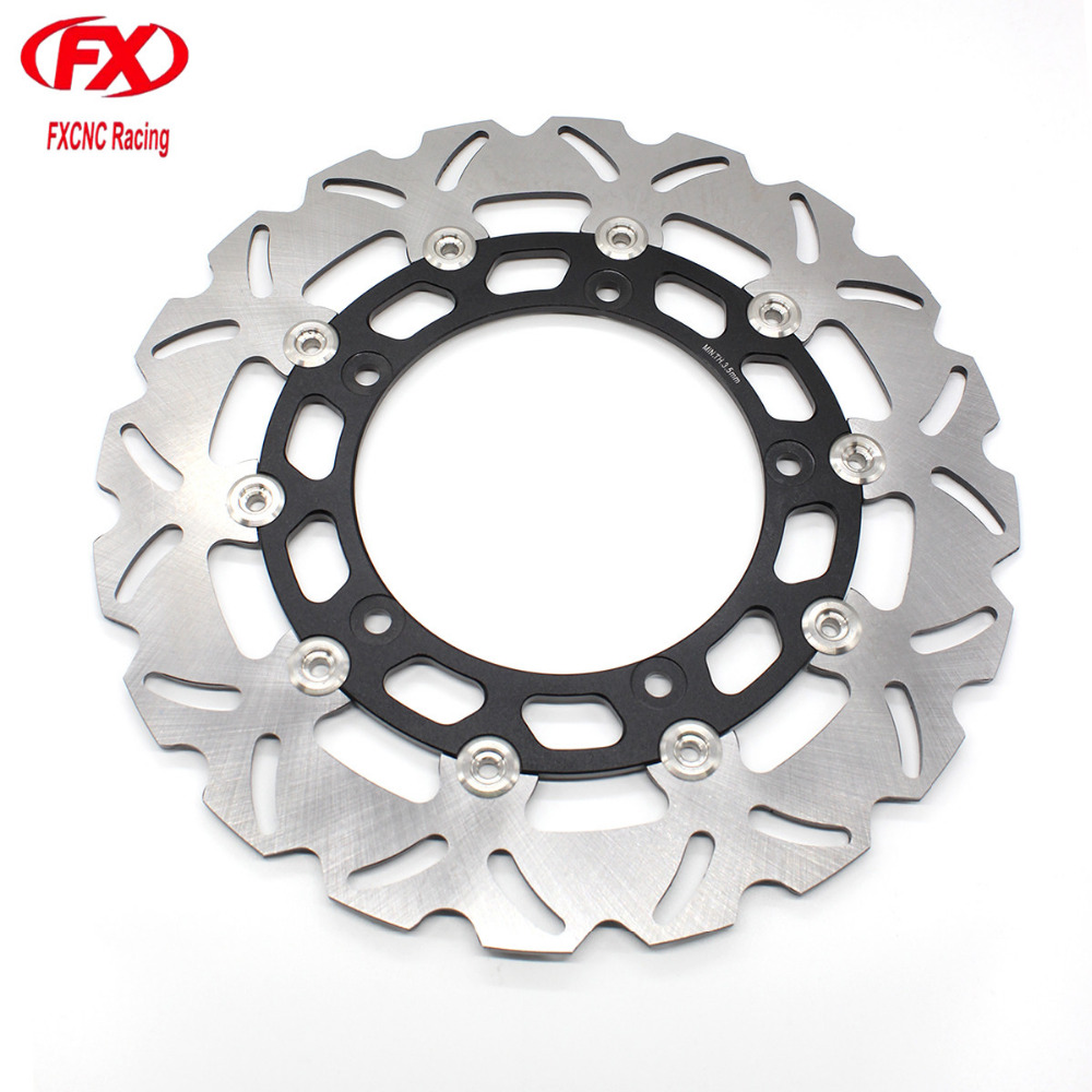 Float Floating Motorcycle Front Brake Disc Disks Rotor Motorbike Brake Disk For Yamaha YZF R15 2013 2014 2015 2016 2017 FXCNC sintered copper motorcycle parts motorbike front