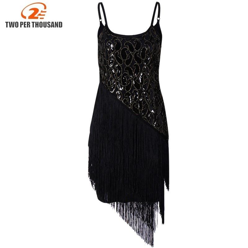 Bretelles Spaghetti ajustables Paillettes Quast détails robe moulante 1920's Style Vintage robe de soirée pour les femmes